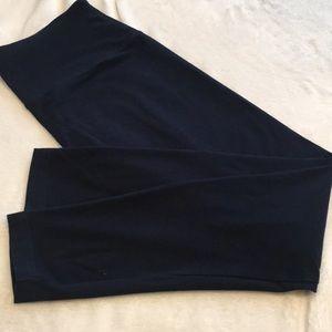 Lysse Leggings High Waist Navy Blue